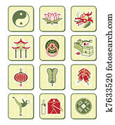Chinese icons | BAMBOO series