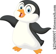 clipart of cartoon penguin fishing on the ice k31088764 search