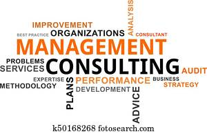 word cloud - management consulting
