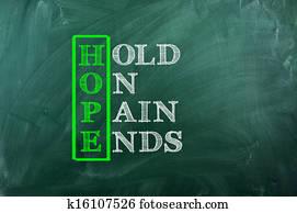 hope pain