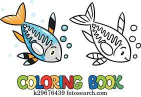 Clipart Röntgenaufnahme Fische Ausmalbilder K22950932 Suche