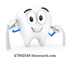 Tooth Flossing