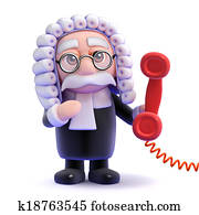 3d Judge phone call