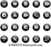 Network, Server & Hosting