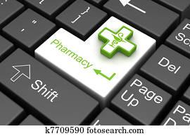 pharmacy enter key