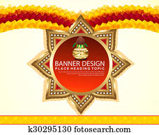 indian celebration Background banner