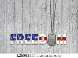 military dog tags for freedom