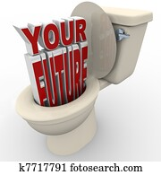 Your Future Flushing Down Toilet Prospects at Risk