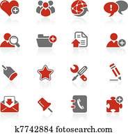 Blog & Internet Icons / Redico