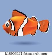 Clownfisch Clip Art Und Illustrationen 859 Clownfisch Clipart