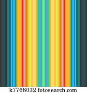 Retro stripe background in bright c