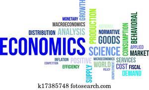 word clouod - economics