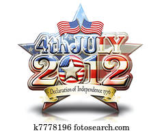 4 July 2012 Graphic