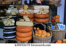 Dutch cheese store