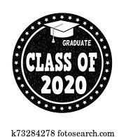 klasse, von, 2020, briefmarke