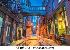 New York City Alleyways