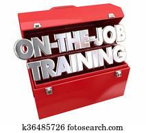 On the Job Training Tools Toolbox Learning Career Apprentice