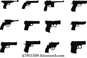 pistols and revolver