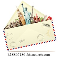 Travel in the envelope