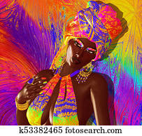 African American Fashion Beauty