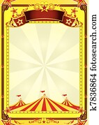 Big Top circus flyer