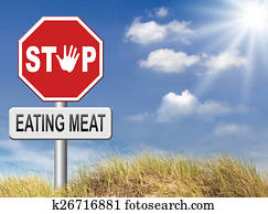 stop eating meat