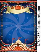 Circus night poster