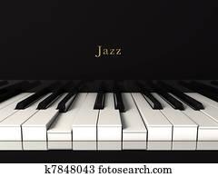 Jazz piano.