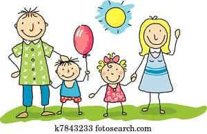 Clipart Famille famille cliparts et images. 185 202 famille la recherche d