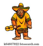 Mexican bigfoot