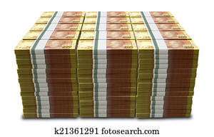 south african rand notes bundles stack extreme close stock. Black Bedroom Furniture Sets. Home Design Ideas