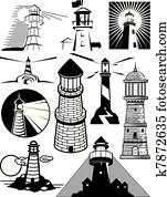 leuchtturm, sammlung