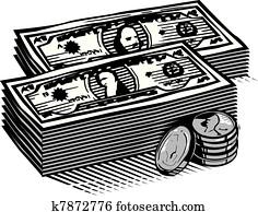 Woodcut Cash
