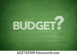 Budget on Blackboard