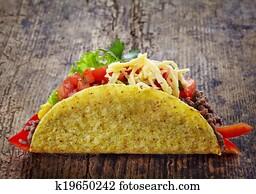 Mexican food Tacos