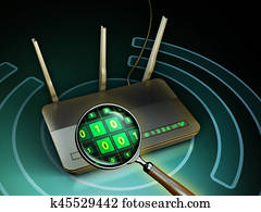 Wireless data inspection