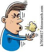Cartoon Sneeze