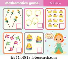 Count how many object of air transport  Mathematical game for