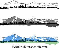 bergwelt, landschaftsbilder