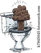 Toilet Explosion