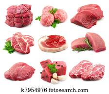 Meat collectionon
