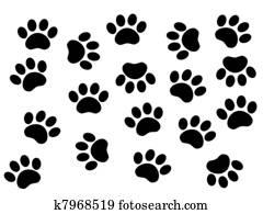 Dogs tracks