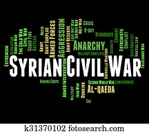 Syrian Civil War Represents Military Action And Assad