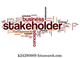 Stakeholder word cloud