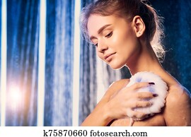 Nude Woman Lathering Soap Stock Photos | Our Top 60 Nude