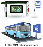 busbahnhof, bilder