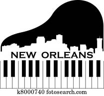 new orleans, musik