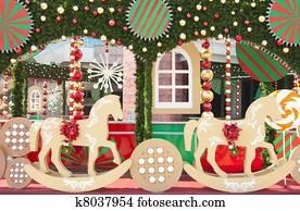 Christmas scenery