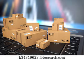 On line shipment
