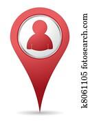 location people icon
